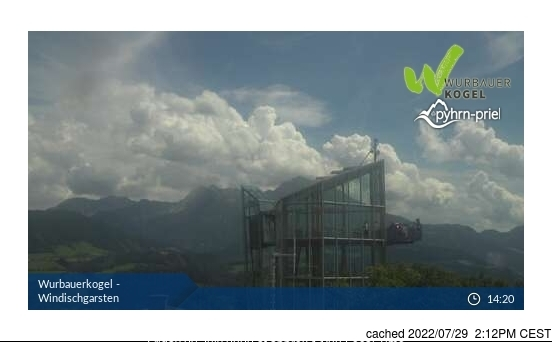 Windischgarsten und Umgebung webcam at lunchtime today