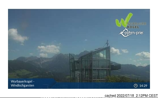Windischgarsten und Umgebung webcam at 2pm yesterday