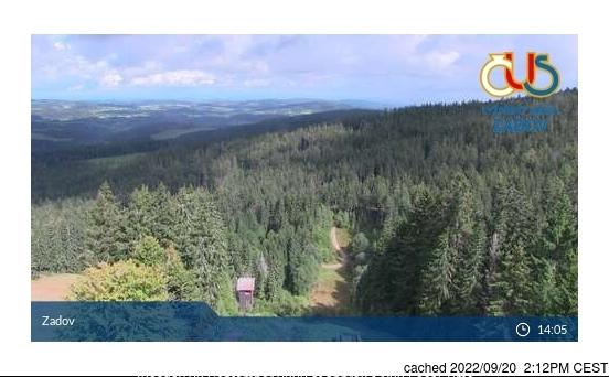 Webcam de Zadov a las 2 de la tarde ayer