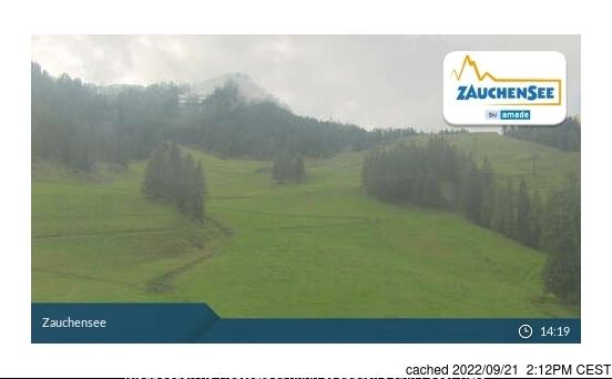 Zauchensee webbkamera vid lunchtid idag