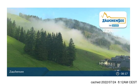Live Snow webcam for Zauchensee