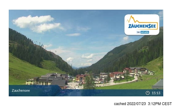 Live webcam per Zauchensee se disponibile