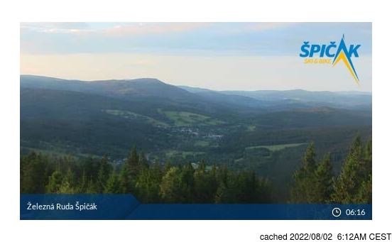 Live Snow webcam for Železná Ruda Špičák