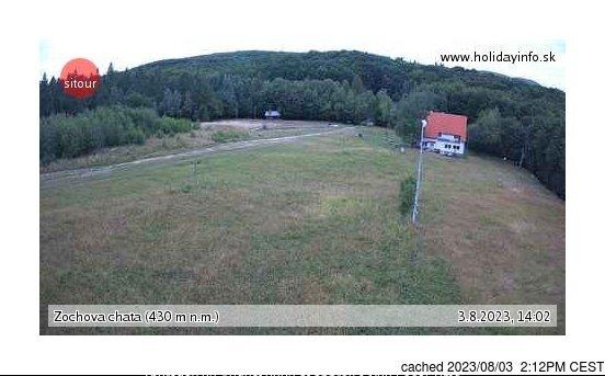 Webcam de Zochova chata - Piesok à 14h hier