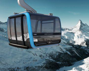 Work Resumes on World's Highest Tri-cable Gondola Lift