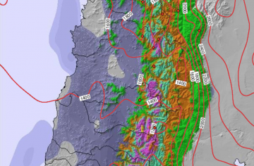 Big Storm Approaching the Andes | More Than 2 Meters Of Snow Forecasted For Chile