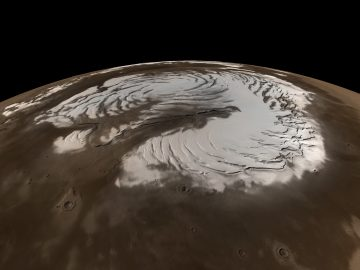 It's Snowing on Mars this Summer (Probably)