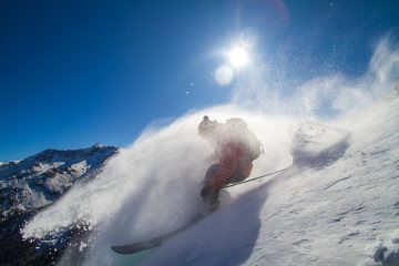 First Turns in Powder and Park for 2017-18 in the USA