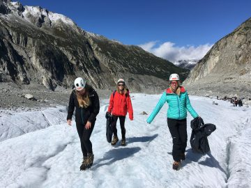 British Consulate and Leading Tour Op Join Forces in Chamonix Glacier Clean Up