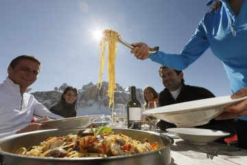 Food First on the Slopes?