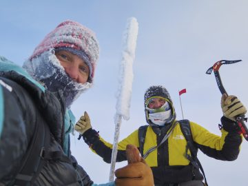 Climbers Make First Winter Summit of Highest Peak in Polar Arctic