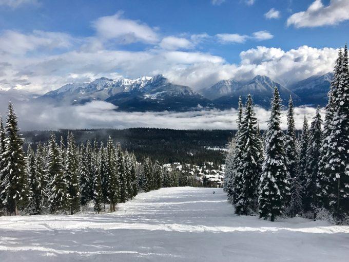 Kicking Horse Ski Area