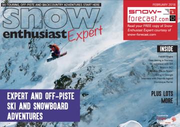 Snow Enthusiast Expert magazine cover