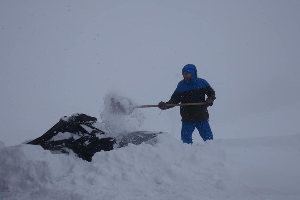 Italy snowfall