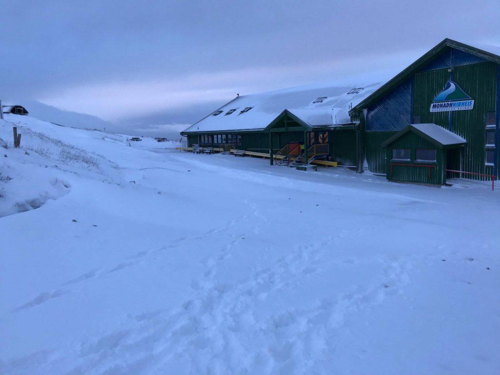 Nevis Snowfall