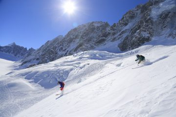 Top of Grands Montets Ski Area Only Accessible to Ski Tourers For Next 3 Years
