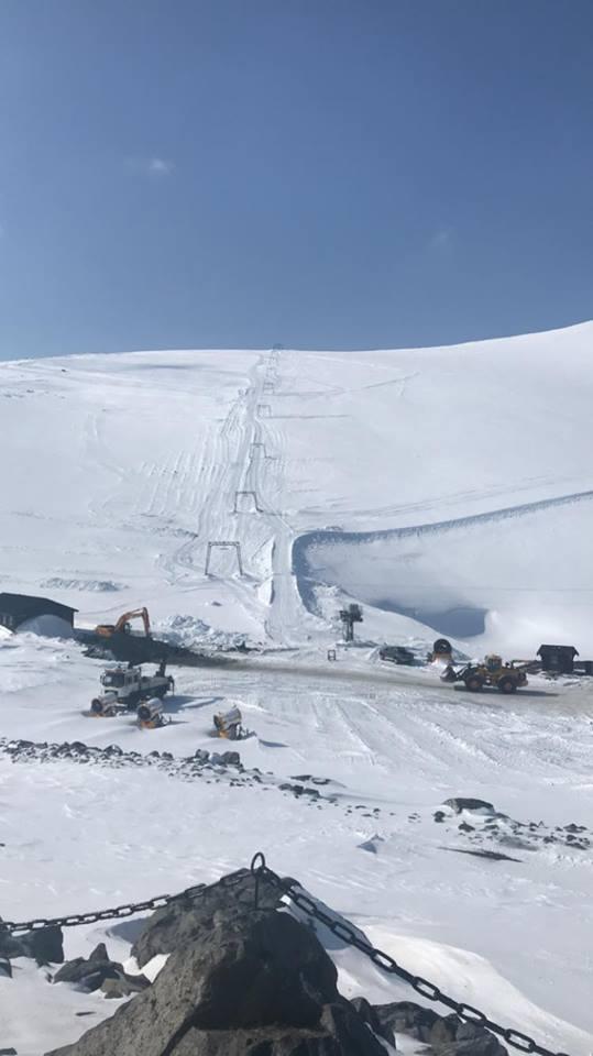 Galdhöppigen summer ski centre