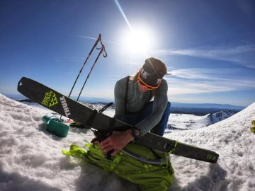 Man Skis Off Mont Blanc Cliff and Lives