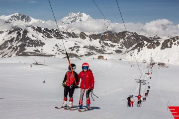 """Sensational"" Summer Ski Conditions in Val d'Isère For Those Who Can Get There"