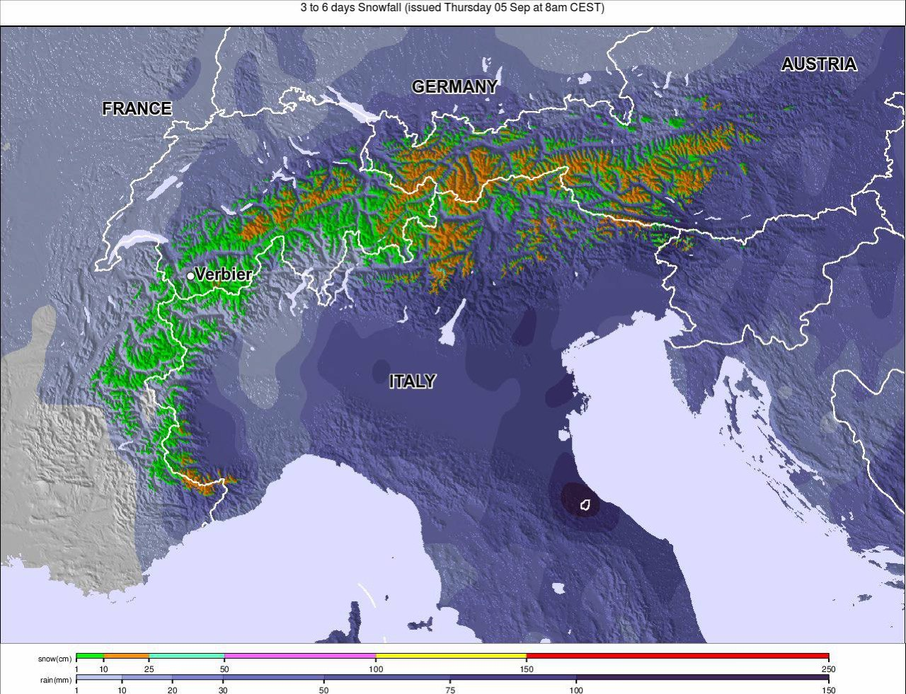 Heavy September Snow Forecast for Alpine Glaciers - The ...