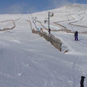 Best Conditions of Season So Far in Scotland