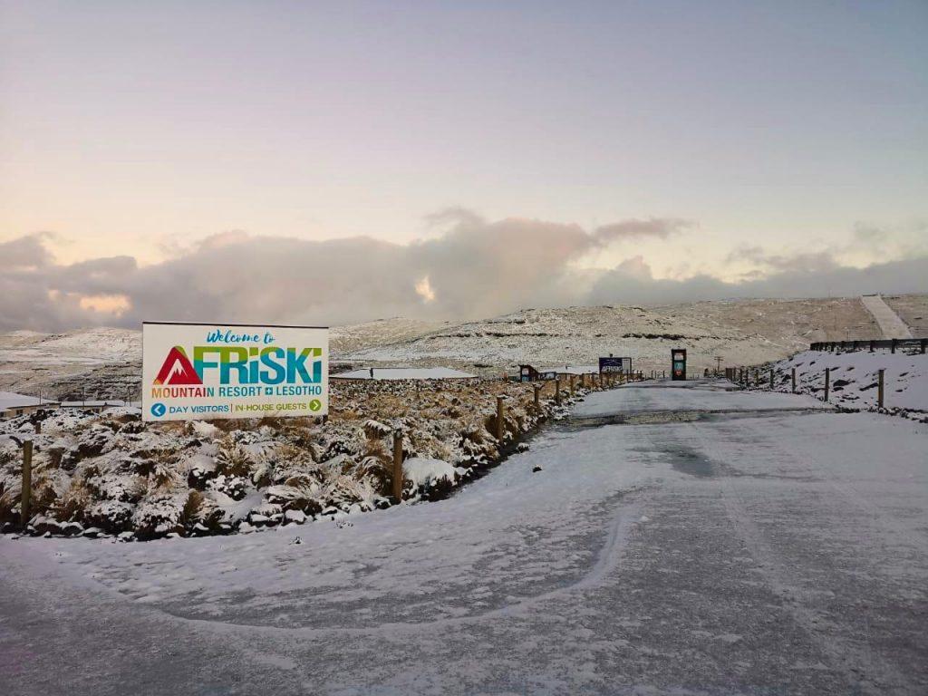 Lesotho resort reopening